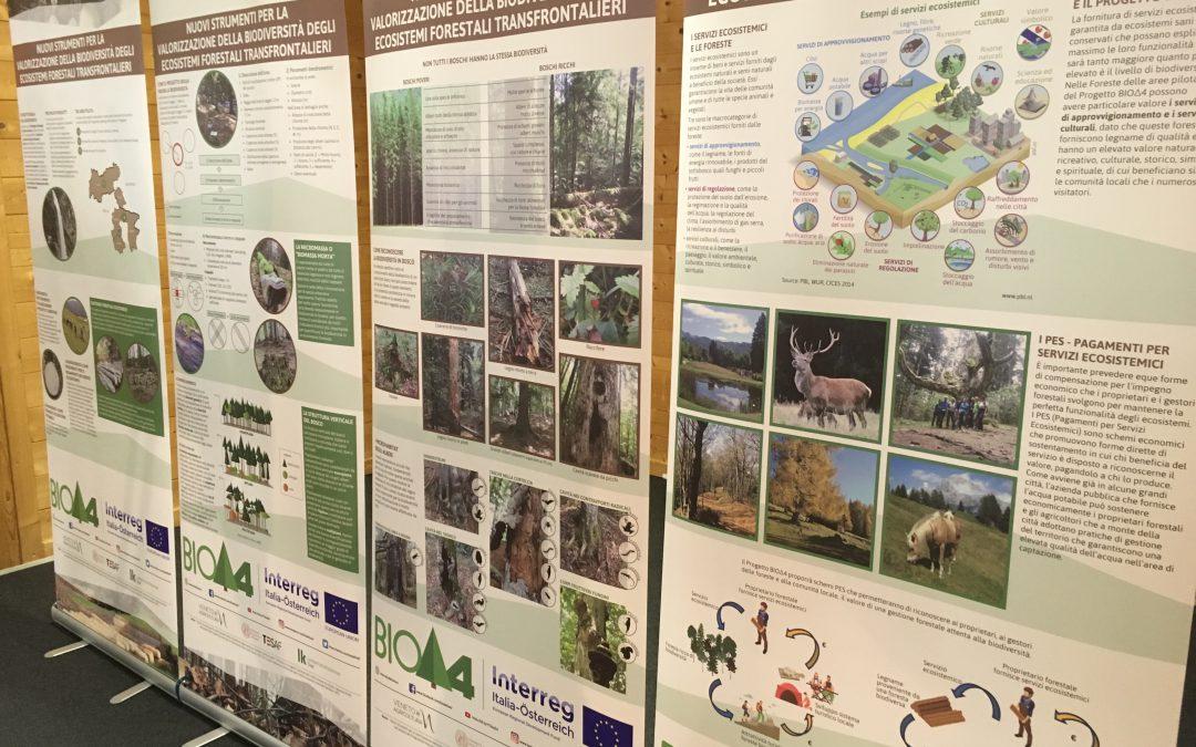 Grande interesse per il Progetto BIOΔ4 alla FIERA E FESTIVAL DELLE FORESTE